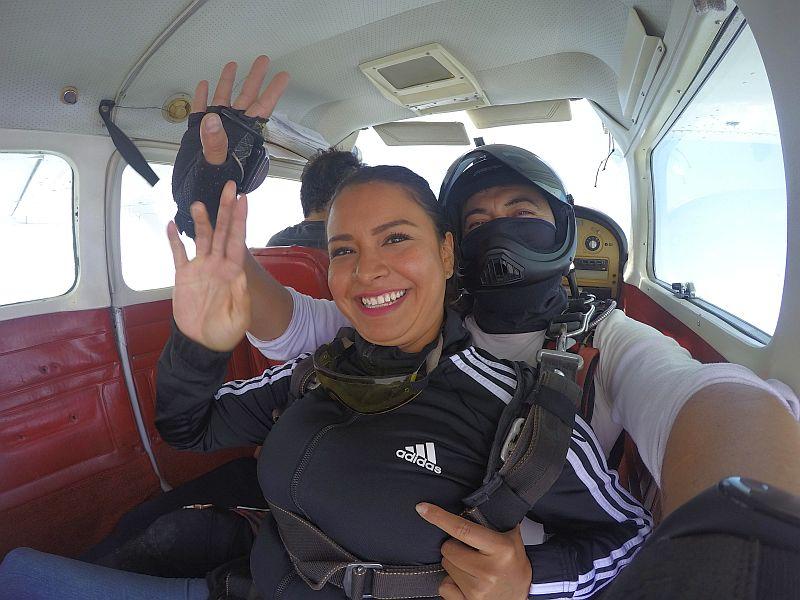 Paracaidismo en Chapala
